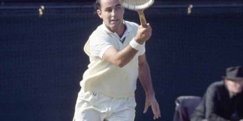 Grand Slam tennis star Bob Hewitt