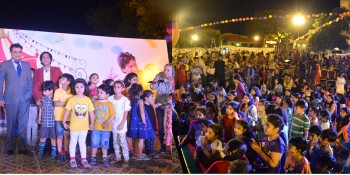 RAWALPINDI, MAY 26: Children taking part in a kids carnival held under the auspices of PC Rawalpindi on Tuesday. DNA PHOTO