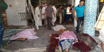 30 feared killed in suicide attack on mosque in Saudi Arabia