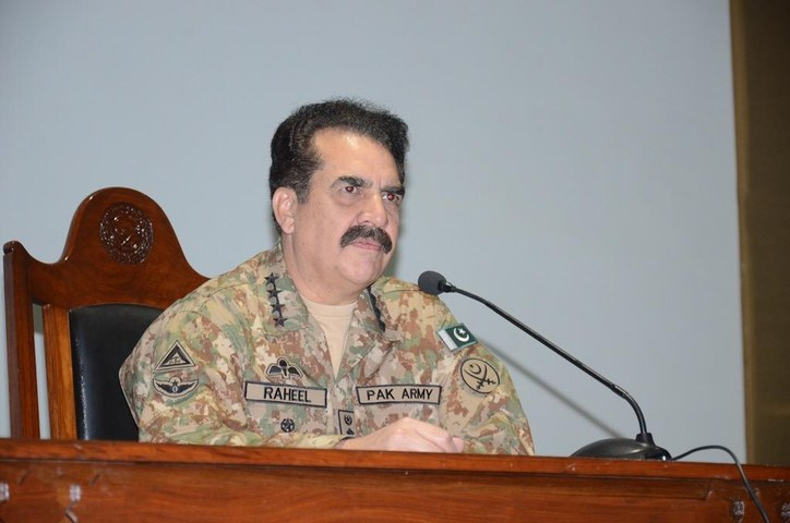 Army to eliminate sleeping cells of terrorists: COAS