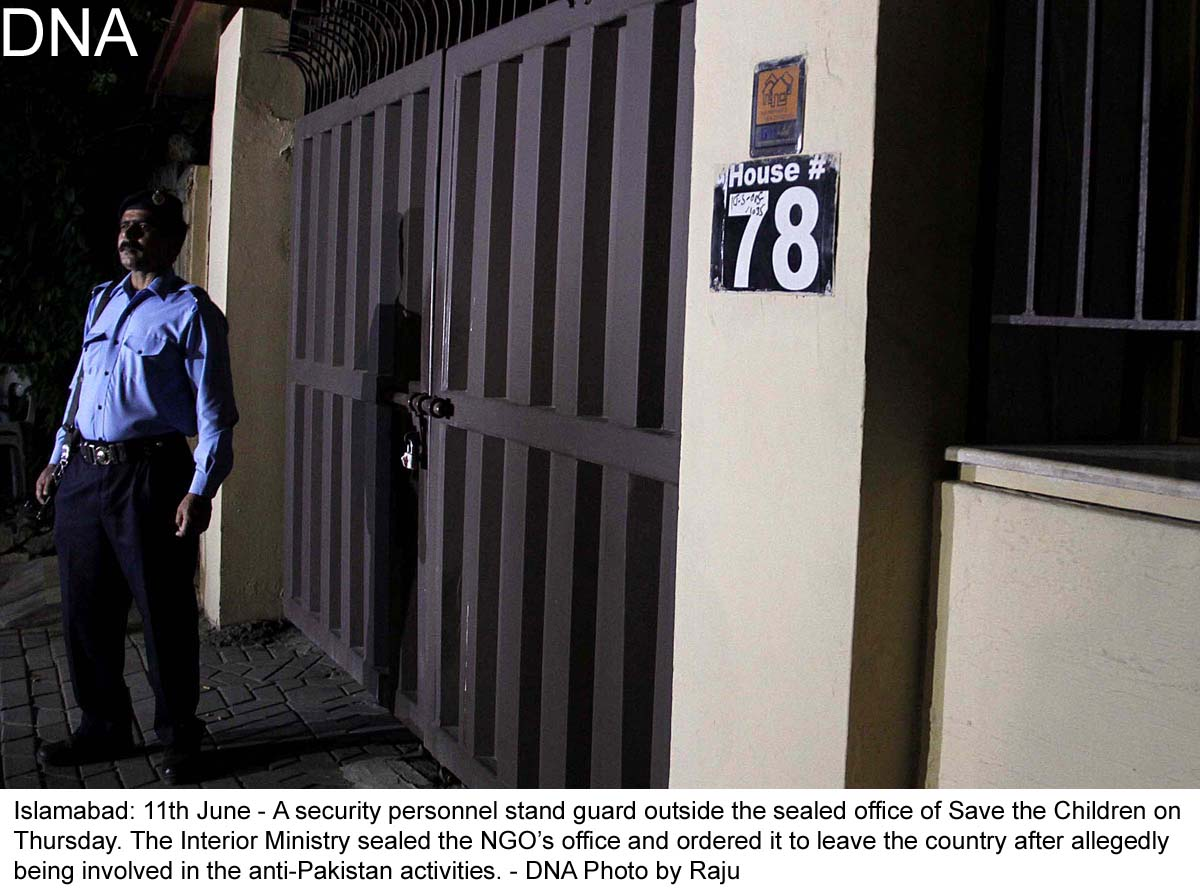 Office of save the children sealed on govt s orders dna news agency - Save the children press office ...