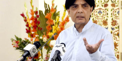 Karachi will not be held hostage anymore, assures Nisar