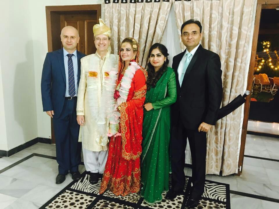 Cultural harmony: Brazilian ambassador celebrates wedding in