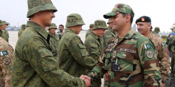 Army contingents of Nepal, UK, Kazakhstan arrive in Lahore