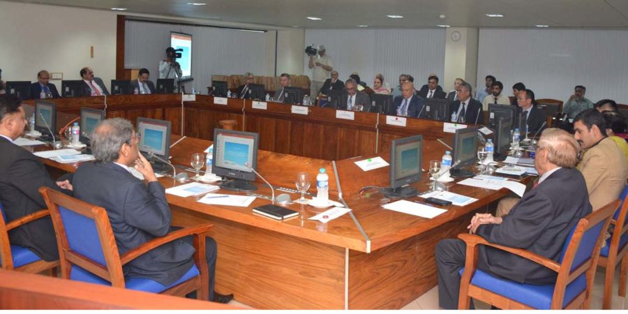 ISLAMABAD, AUG 11: A view of rountable held under the aegis of embassy of Uzbekistan at  COMSTECH secretariat. DNA PHOTO
