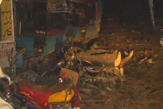 20 wounded in blast on Lahore's Outfall Road