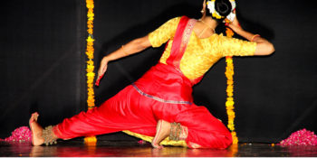 ISLAMABAD, AUG 12: Classical dancer presenting a mesmerizing performance at PNCA. DNA