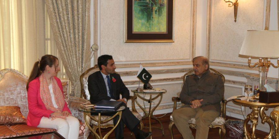 UK Trade Envoy with CM Punjab