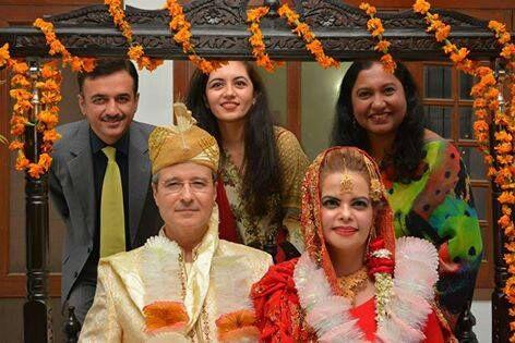 Cultural harmony: Brazilian ambassador celebrates wedding in