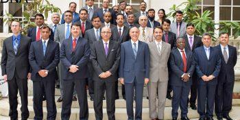 NDU Delegation called on the Ambassador of Pakistan to France 23.04