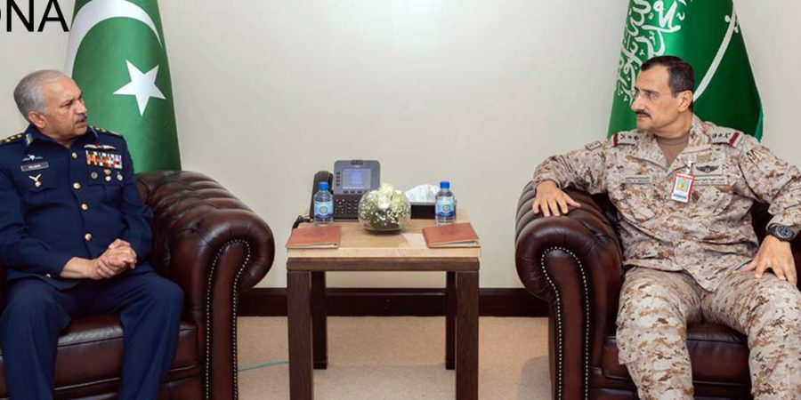 Image result for PAF chief visits Royal Saudi Air Force headquarters