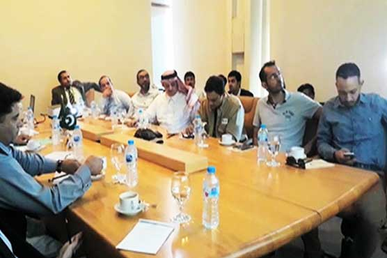Saudi delegation visits Gwadar port, reviews ongoing development