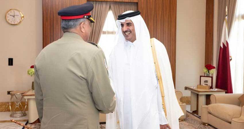 Emir of Qatar appreciates Pakistan's efforts for regional stability