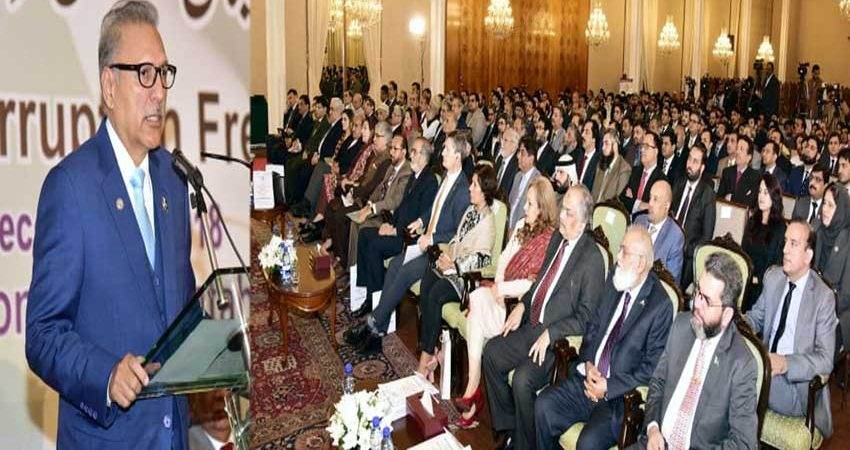 President stresses for taking corruption cases to logical end