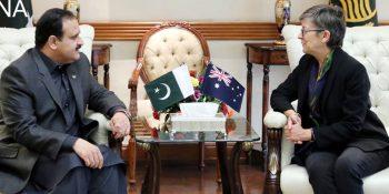 CM Buzdar, Australian HC discuss matters of mutual interests