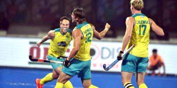 Australia end France's dream run in Hockey World Cup 2018