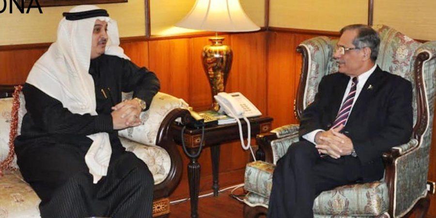 Saudi envoy meets Chief Justice Mian Saqib Nisar