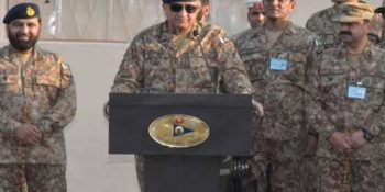 COAS lauds morale of troops during Gadra Sector visit