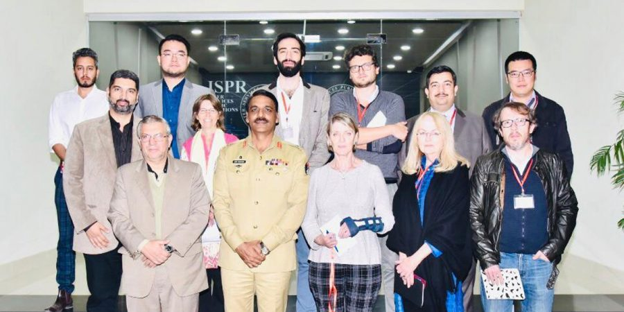 Pakistan wishes to see peace beyond borders: DG ISPR