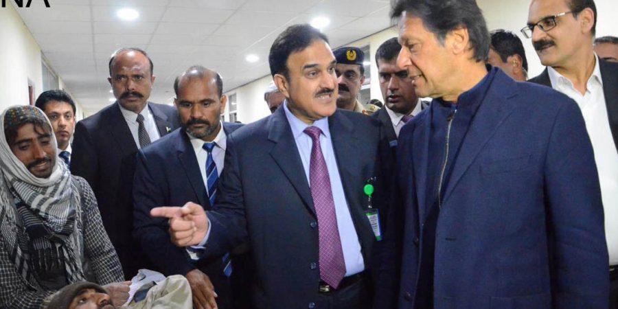 Prime Minister Imran Khan visits PIMS