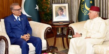 President emphasizes for strengthening bilateral relations between Pakistan, Morocco