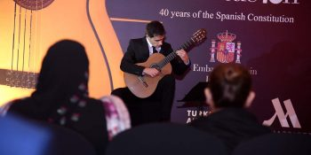 Spanish guitarist says real music hits soul, emotions