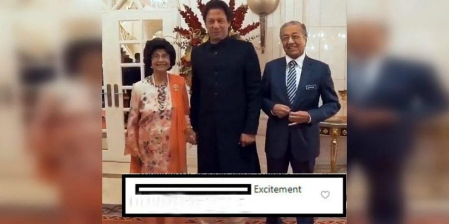 Malaysian First lady reveals why she held PM Imran Khan's hand?
