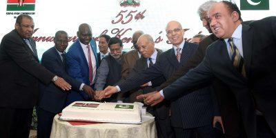 The first ever Formula E race begins in Saudi Arabia