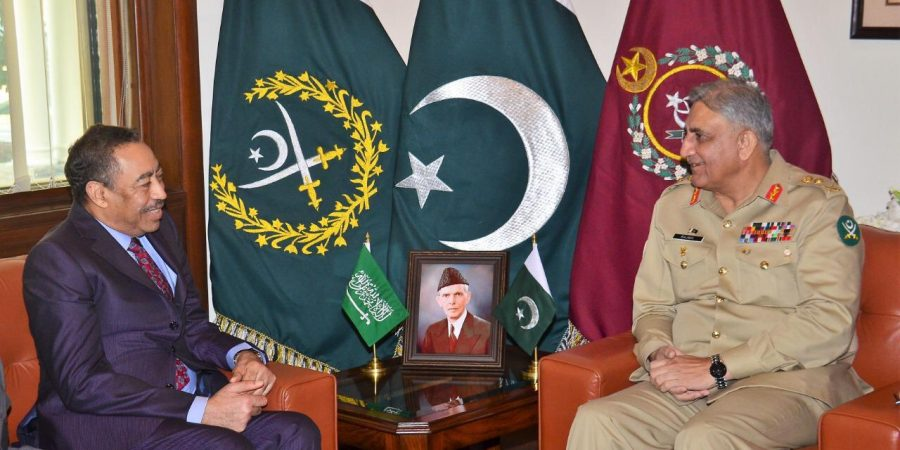 Saudi Assistant Minister of Defence meets COAS Gen. Qamar Javed Bajwa