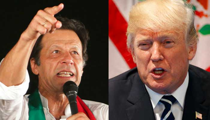Trump writes letter to Imran, seeks help in solving Afghan mess