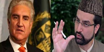 Pakistan rejects Indian objections to FM Qureshi's telephone call to Mirwaiz Umar