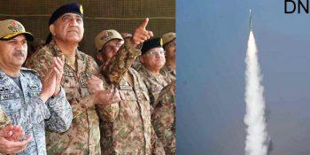 Pakistan Army displays fire power capability