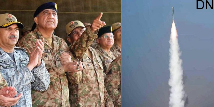 Pakistan Army displays fire power capability