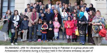Ukraine embassy hosts Ukrainian Diaspora in Pakistan to celebrate winter festivities
