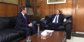 Ambassador of Kazakhstan meets Deputy Chairman Senate Saleem Mandviwalla