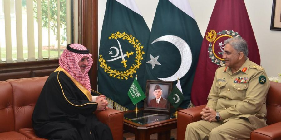Governor of Tabuk, KSA meets COAS General Qamar Javed Bajwa