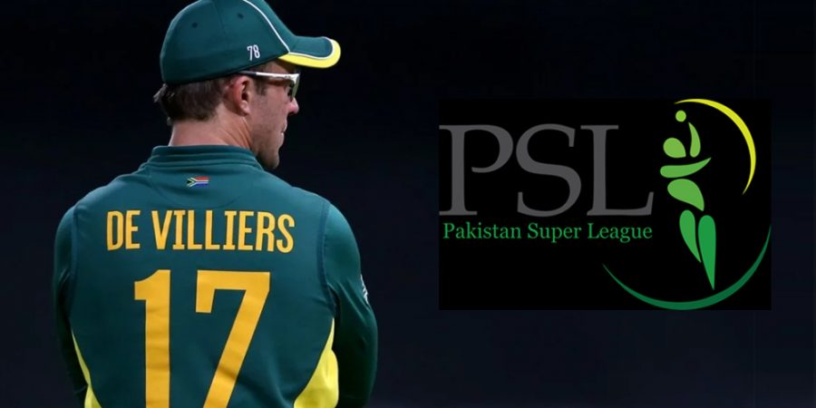 AB de Villiers ready to play PSL Matches in Pakistan