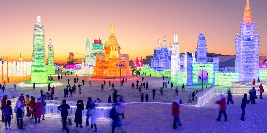 World's largest ice and snow festival kicks off in China