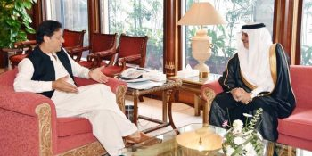 Saudi envoy meets PM Imran Khan