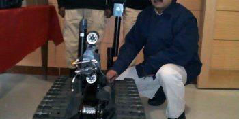 Pakistan gets Rs70m bomb disposal robot from EU