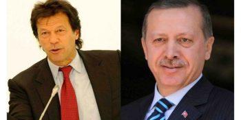 Turkish president lauds Imran Khan's initiative towards peace