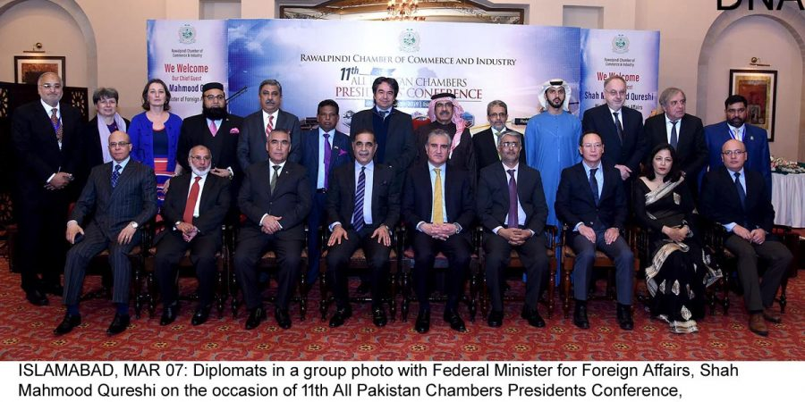 Qureshi spells out details of economic diplomacy initiative