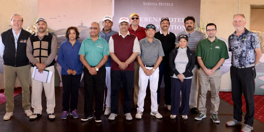 ISLAMABAD, MAR 9: -Winners of The Serena Hotels Invitational Golf Championship, 2019 in various categories posing for a group photo.=DNA