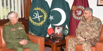 Commander of National Guard of Bahrain meets Army Chief Gen. Bajwa