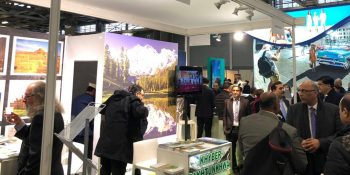 Pakistan offered its tourism treasures at the World Tourism Fair in Paris