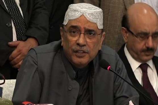 Drama staged against Hamza Shahbaz for arrest: Asif Zardari