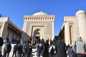 A place of pilgrimage in Bukhara