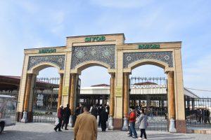 Famous Orientaal Bazar in Samarkand