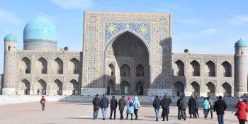 Registan Emsemble in Samarkand