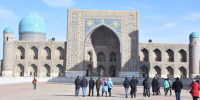Registan Emsemble in Samarkand